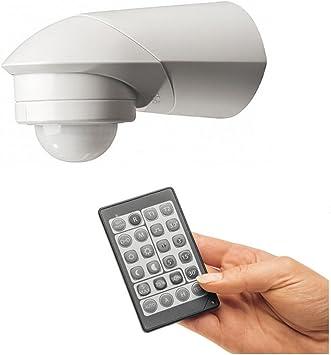 PIR 360 ° detector de movimiento IP55 3 de alambre Relé Versión también para LED con IR – Mando a distancia.: Amazon.es: Electrónica