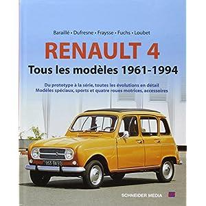 Livre RENAULT 4 TOUS LES MODELES 1962-1994