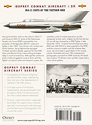 MiG-21 Units of the Vietnam War (Osprey Combat Aircraft 29)