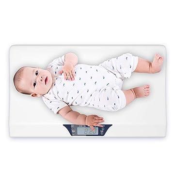 WLIXZ Báscula para bebés, Peso Digital multifunción Medida para niños pequeños/Adultos / Perros/Gatos, precisión a ± 10 g, 44 LB: Amazon.es: Deportes y aire ...