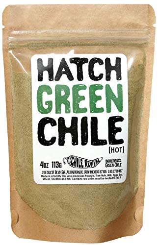 (Hatch Green Chile Powder 4oz (Hot))
