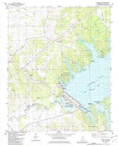 - YellowMaps Sardis Dam MS topo map, 1:24000 Scale, 7.5 X 7.5 Minute, Historical, 1982, Updated 1982, 26.8 x 22 in - Paper