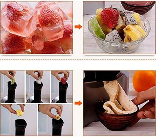 Automatic Ice Cream Maker Electric Frozen Fruit Dessert Icecream Pressing Machine Frozen Yogurt Milkshake Squeezer
