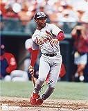 Ozzie Smith St. Louis Cardinals Autographed 8'' x 10'' Dropping Bat Photograph - Fanatics Authentic Certified