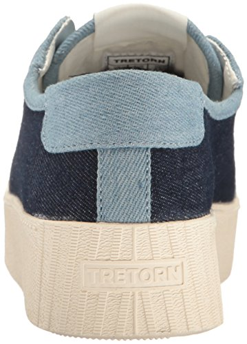 Dark Sneaker Blue Light Women's Tretorn Blaire OA0xtHH
