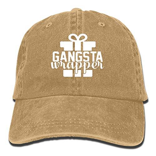Gangsta Wrapper Christmas Vintage Adjustable Jean Cap Gym Caps for ()