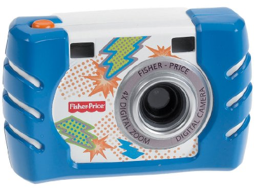 Fisher-Price Kid-Tough Digital Camera, Blue, Baby & Kids Zone