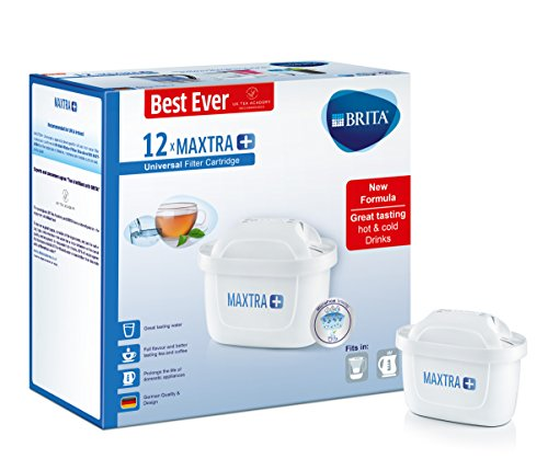 BRITA Maxtra+ Excellent Filter Cartridges, White, Pack Of 12 (Uk Version)