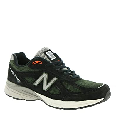 the best attitude f4920 a6454 Amazon.com   New Balance Men s 990v4 Running Shoes Black Rosin   Running