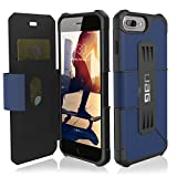 UAG Folio iPhone 8 Plus/iPhone 7 Plus/iPhone 6s Plus [5.5-inch screen] Metropolis Feather-Light Rugged [COBALT] Military Drop Tested iPhone Case