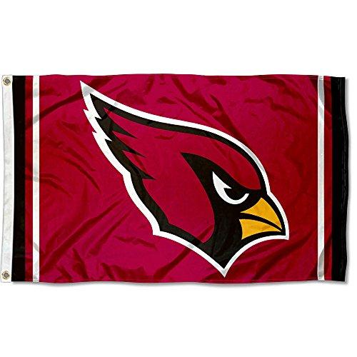 dinals Large NFL 3x5 Flag (Arizona Cardinals Banner Flag)