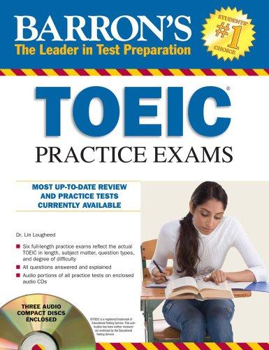 [E.b.o.o.k] Barron's TOEIC Practice Exams with 4 Audio CDs [T.X.T]