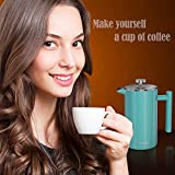 French Press Coffee Maker - 34 oz, Double-Wall