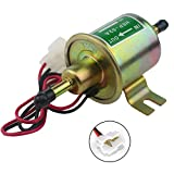 #8: W8sunjs Universal 12V Heavy Duty Electric Fuel Pump Metal Solid Petrol 12 Volts