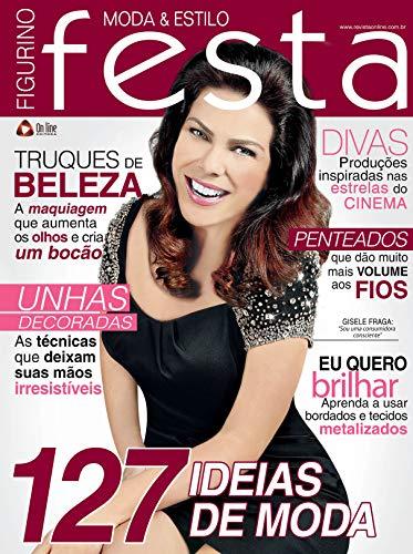 Figurino Festa Moda & Estilo 15 (Portuguese Edition)