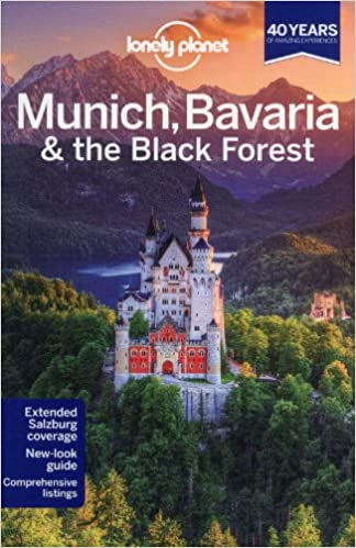 lonely planet munich bavaria the black forest travel guide