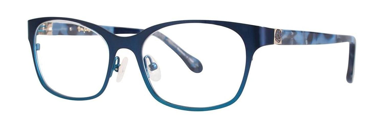 LILLY PULITZER Eyeglasses WRIGHT Navy 48MM