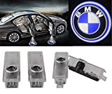 ExcellentCar Door LED Lighting Entry Laser Ghost Shadow Projector Welcome Lamp Logo Light for BMW ( Pack of 4)
