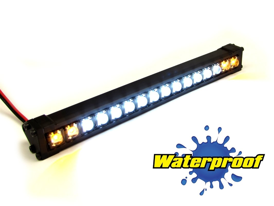 Gear Head RC 1/10 Scale Trek Torch 5'' LED Light Bar - White and Yellow