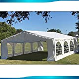 Delta 26'x16' Budget PE Party Tent Canopy Shelter White Canopies