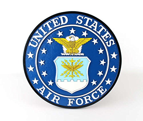 Executive Series Display Models B60700 USAF Wall Plaque ()