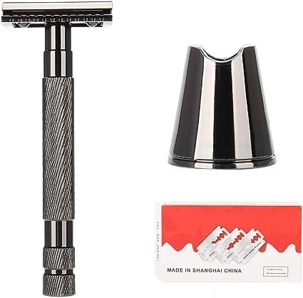 Zerone navaja de afeitar afeitadora clásico en acero inoxidable ...