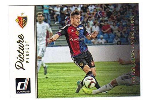 fan products of 2016 Donruss Picture Perfect #24 Taulant Xhaka FC Basel 1893 Soccer Card