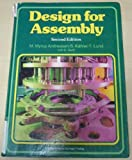 Design for Assembly, Andreasen, M. Myrup and Kahler, S., 0387189297
