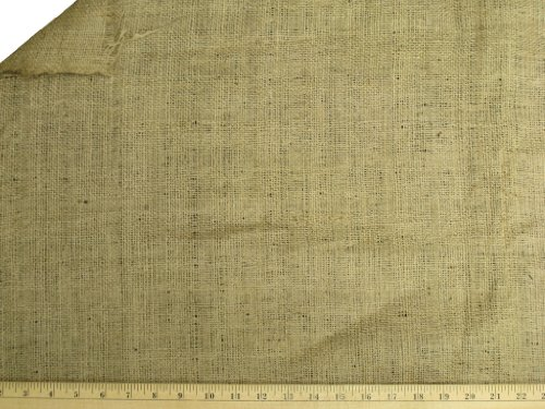 LA Linen Natural Burlap