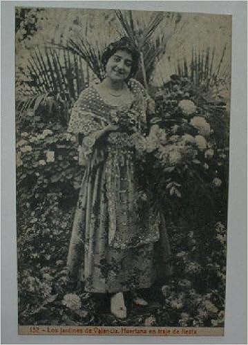 Antigua postal. Old post card. Nº 132 - Los jardines de ...
