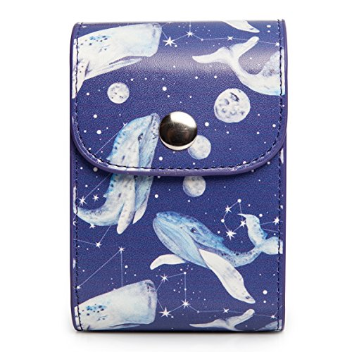 Film Sheet Holder (CAIUL Compatible Mini Photo Case Bag for Storing Films and Photos Taken by Fujifilm Instax Mini 8 8+ 9 7s 70 90 25 26 50s (Whales))