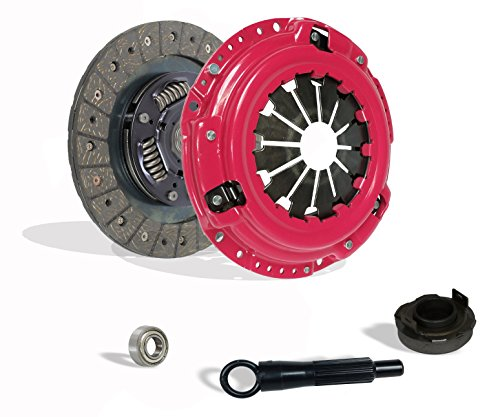 Clutch Kit Works With Honda Civic Crx Base Cx Dx Ex Lx Si Hf 1990-1991 1.6L L4 1.5L l4 GAS SOHC Naturally Aspirated (D15; D16; all model with ZC motor ()