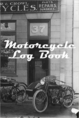 Motorcycle Log Book Fastforward Publishing  Amazon Com Books