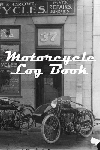 Motorcycle Log Book