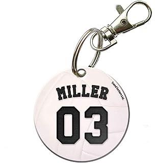 Amazon.com: Voleibol cierre/bolsa etiquetas Dos 1.5 inch ...