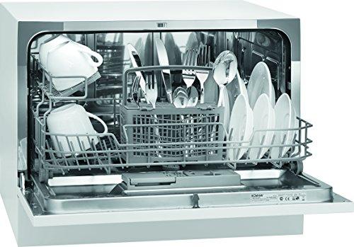 Bomann TSG 708 Tischgeschirrspüler / A+ / 174 kWh/Jahr / 6 MGD / 1820 L/Jahr / Elektronische Programmsteuerung / 6 Maßgedecke / weiß
