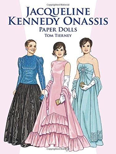 Jacqueline Kennedy Onassis Paper Dolls (Dover President Paper Dolls)
