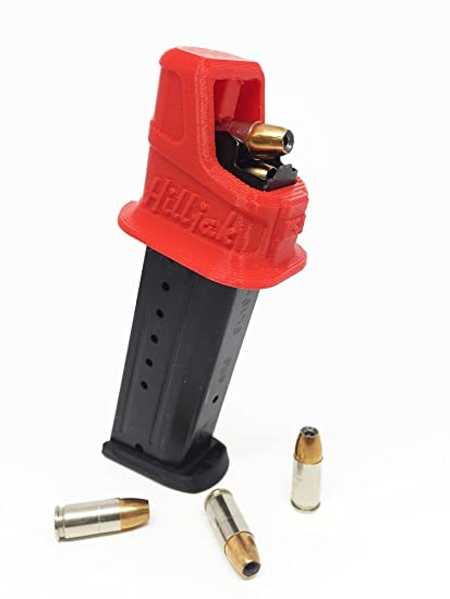 Taurus PT-111 9MM Double-Stack Magazine Loader by Hilljak- Red