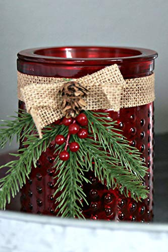 - Electric 2-in-1 Candle Warmer Wax Melter - 2 Piece Ceramic Burner Melts Scented Candles Oil Fragrances Tart Cubes - Odor Eliminating Plug in Flameless Air Freshener - Holiday Christmas Decor