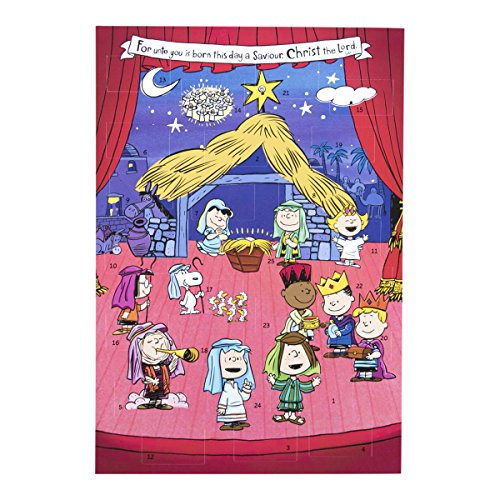 Peanuts - Christmas Advent Calendar with Magnet ()