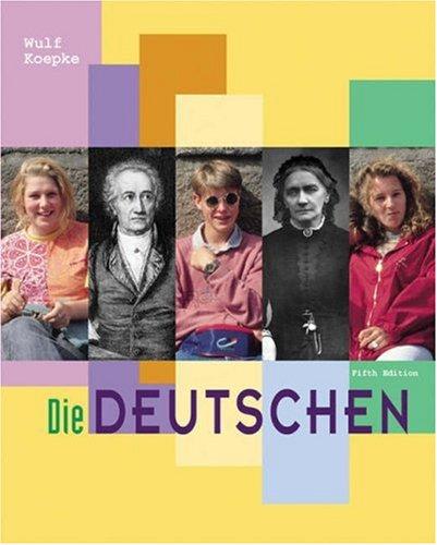 Die Deutschen:Vergangenheit+Gegenwart