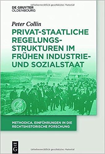Privat-Staatliche Regelungsstrukturen Im Fruhen Industrie- Und Sozialstaat (Methodica)