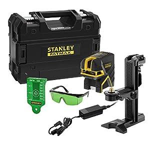 STANLEY FMHT77598-1 Nivel Laser de Cruz + 5 Puntos – Verde. 20 (50 metros con Detector) ±3mm/m 515bowRZ4hL. SS300