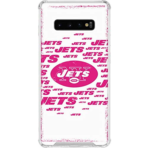 ea4a2d7e Amazon.com: Skinit New York Jets Pink Blast Galaxy S10+ Clear Case ...