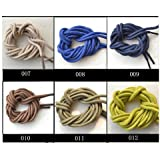 """Shoe Laces Round Thick - Brown (Dark) 36"""" Long Shoelaces"""