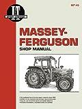 Massey Ferguson Shop Manual Models  MF362 365 375 383 390+
