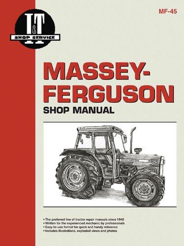 Ferguson Massey Manuals Repair - Massey Ferguson Shop Manual Models  MF362 365 375 383 390+