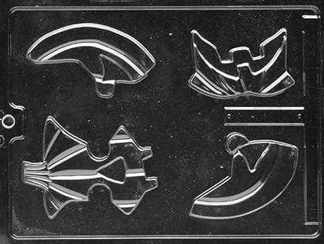 El rompecabezas de calabaza de fábrica de Chocolate molde del Chocolate - 4 piezas: Amazon.es: Hogar