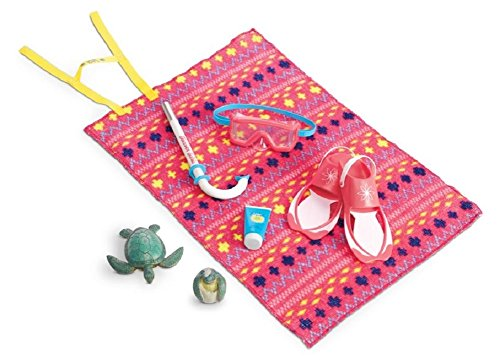 Hot American Girl - Lea Clark - Lea's Beach Accessories for Dolls - American Girl of 2016