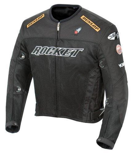 - Joe Rocket UFO 2.0 Textile Mesh Motorcycle Jacket XX-Large (Size 48) Black